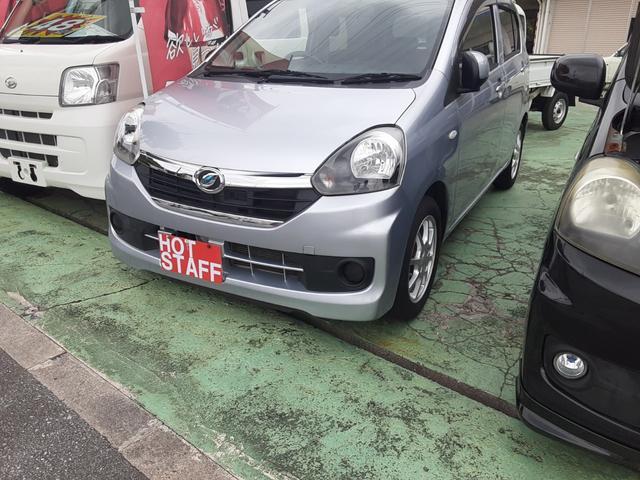 沖縄の中古車 ダイハツ ミライース 車両価格 42万円 リ済込 2016(平成28)年 7.7万km シルバーM