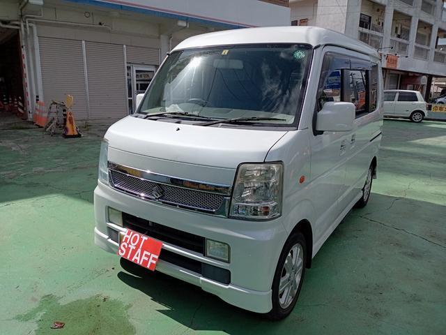 沖縄の中古車 スズキ エブリイワゴン 車両価格 47万円 リ済込 2009(平成21)年 9.7万km パールホワイト