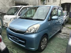 沖縄の中古車 スバル ステラ 車両価格 32万円 リ済込 平成20年 8.6万K アジュールブルーパール