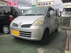 沖縄の中古車 日産 モコ 車両価格 9万円 リ済込 平成14年 16.1万K シルバー