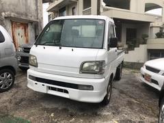 沖縄の中古車 ダイハツ ハイゼットトラック 車両価格 38万円 リ済込 平成14年 4.6万K ホワイト