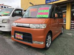 沖縄の中古車 ダイハツ タント 車両価格 32万円 リ済込 平成17年 9.0万K オレンジII