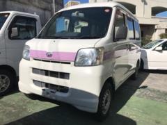 沖縄の中古車 ダイハツ ハイゼットカーゴ 車両価格 35万円 リ済込 平成18年 11.4万K ホワイトII