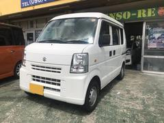 沖縄の中古車 スズキ エブリイ 車両価格 75万円 リ済込 平成25年 1.5万K ホワイト