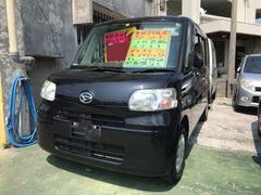 沖縄の中古車 ダイハツ タント 車両価格 39万円 リ済込 平成21年 11.7万K ブラック