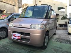 沖縄の中古車 ダイハツ タント 車両価格 19万円 リ済込 平成16年 11.1万K ピンク