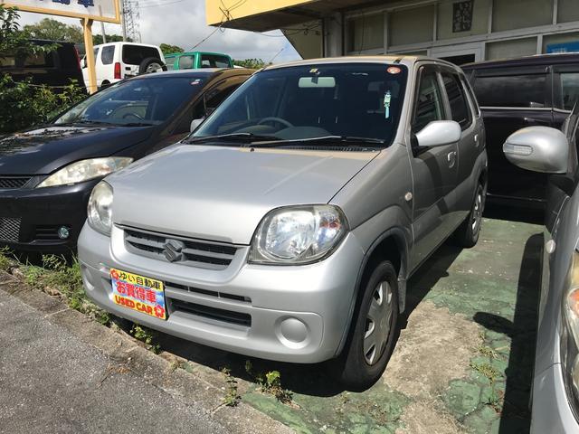 沖縄県の中古車ならKei フル装備 ABS キーレス CD