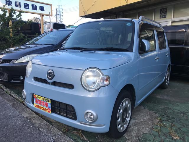 沖縄の中古車 ダイハツ ミラココア 車両価格 39万円 リ済込 2010(平成22)年 9.3万km ライトブルー