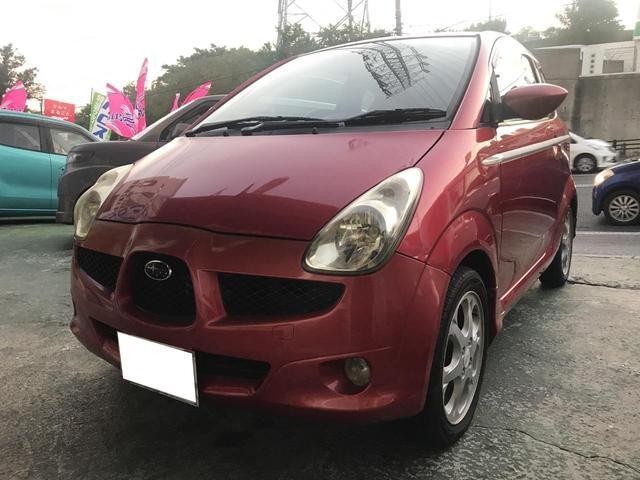 沖縄の中古車 スバル R1 車両価格 18万円 リ済込 2005(平成17)年 15.1万km レッド