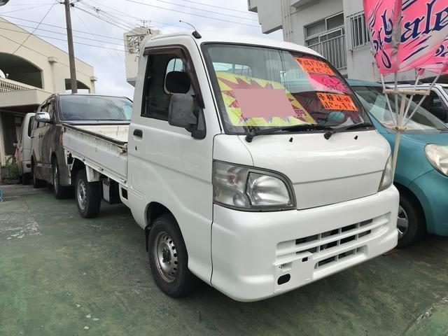 沖縄の中古車 ダイハツ ハイゼットトラック 車両価格 31万円 リ済込 2005(平成17)年 8.4万km ホワイト