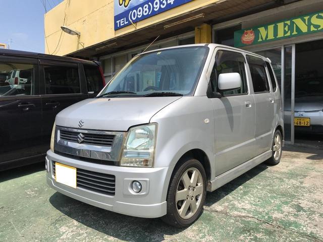 沖縄市 ゆい自動車 スズキ ワゴンR FT-Sリミテッド 現状販売 シルバー 17.1万km 年式不明