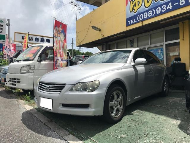 沖縄県の中古車ならマークX 250G Four Fパッケージ 4WD キーレス CD