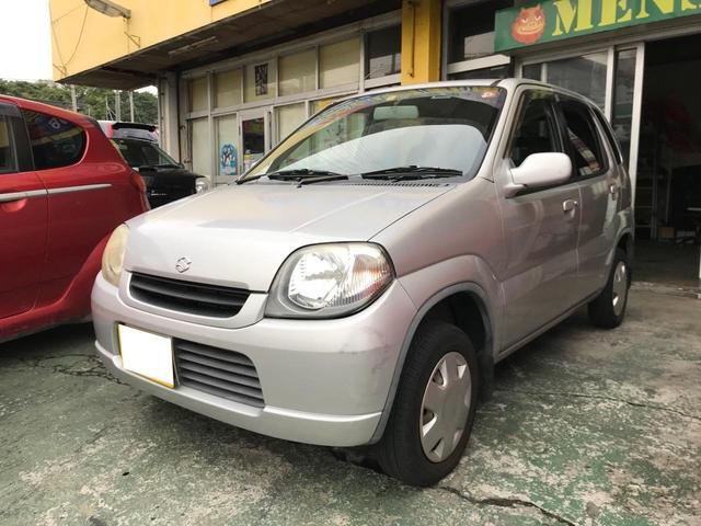 沖縄県の中古車ならKei Eリミテッド 現状販売 エアコン パワーステアリング パワーウィンドウ オートマチック