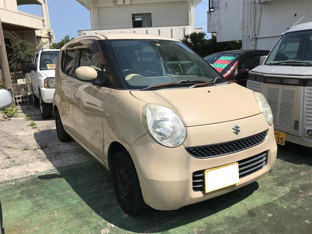 沖縄の中古車 スズキ MRワゴン 車両価格 12万円 リ済込 2006(平成18)年 12.3万km ベージュ