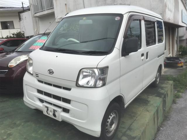 沖縄の中古車 ダイハツ ハイゼットカーゴ 車両価格 37万円 リ済込 2009(平成21)年 11.4万km ホワイト