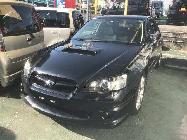 沖縄の中古車 スバル レガシィB4 車両価格 69万円 リ済込 2003(平成15)年 7.5万km ブラック