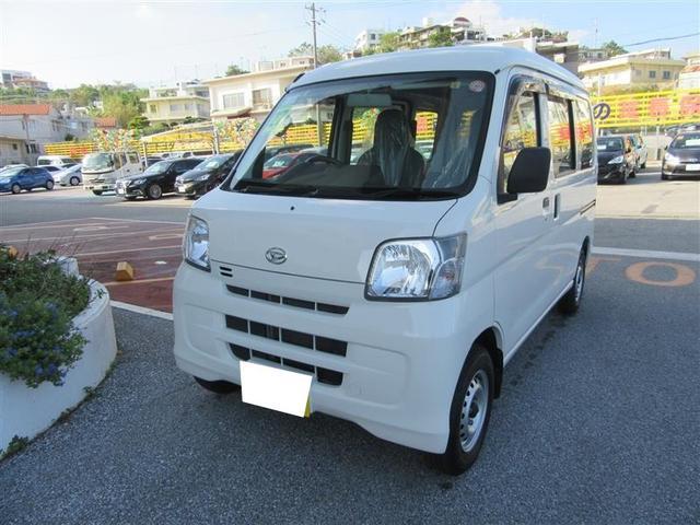 沖縄の中古車 ダイハツ ハイゼットカーゴ 車両価格 79万円 リ済別 平成27年 4.6万km ホワイト