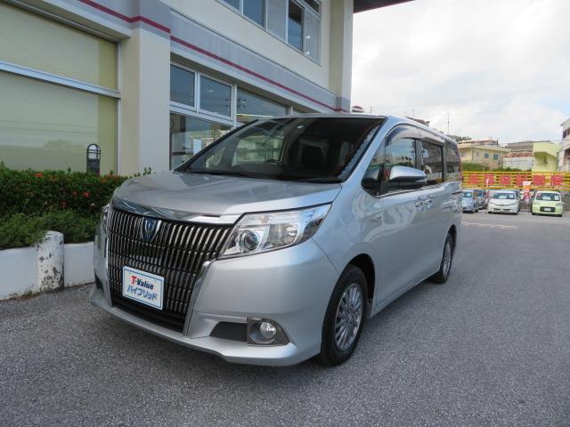 沖縄の中古車 トヨタ エスクァイア 車両価格 264万円 リ済別 2015(平成27)年 4.2万km シルバーM