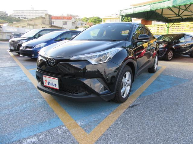 C-HR(沖縄 中古車) 色:ブラックマイカ 価格:198万円 年式:2017(平成29)年 走行距離:1.4万km
