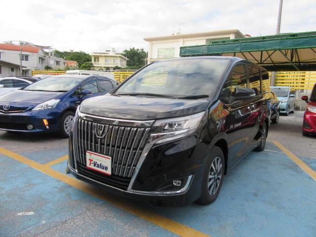 沖縄の中古車 トヨタ エスクァイア 車両価格 281.6万円 リ済別 2019年 0.2万km ブラック