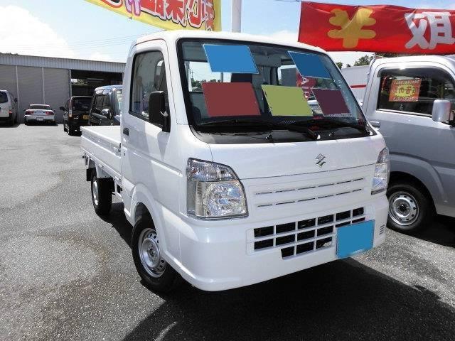 沖縄県の中古車ならキャリイトラック 新型  KC エアコン パワステ 5F 2WD