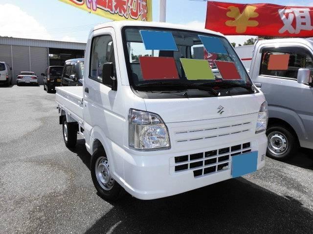 沖縄県の中古車ならキャリイトラック 新車 KCエアコン・パワステ 5F 4WD
