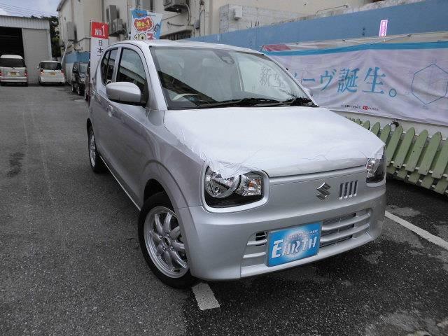沖縄県の中古車ならアルト 新車 X ナビ ブレーキサポート付