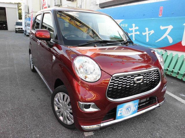 沖縄の中古車 ダイハツ キャスト 車両価格 124.8万円 リ済別 新車  レッド