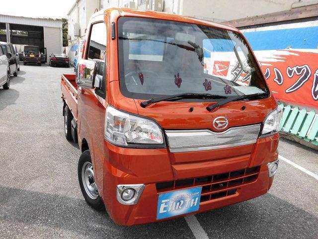 沖縄県の中古車ならハイゼットトラック 新車 エクストラ AT 4WD ブレーキアシスト付