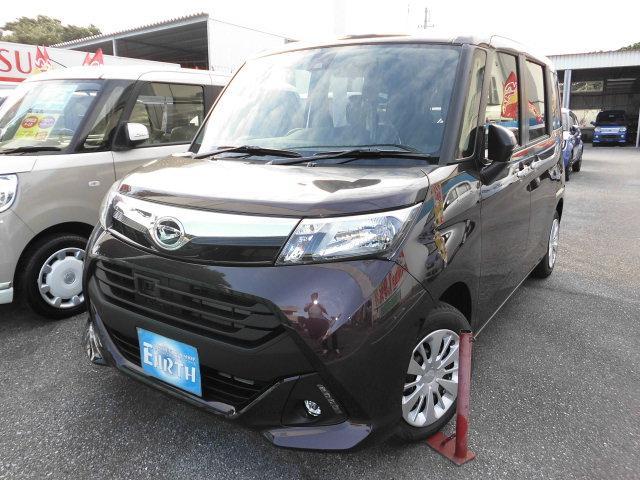 沖縄県の中古車ならトール 新車 X ナビ