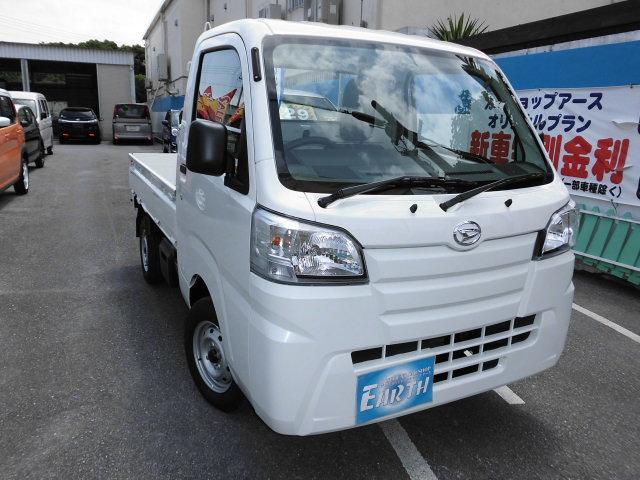 沖縄の中古車 ダイハツ ハイゼットトラック 車両価格 64万円 リ済別 新車  ホワイト