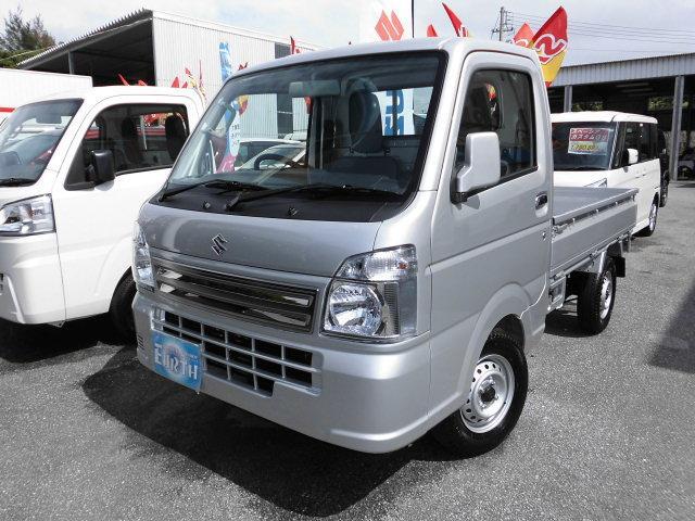 沖縄の中古車 スズキ キャリイトラック 車両価格 98万円 リ済別 新車  シルバー