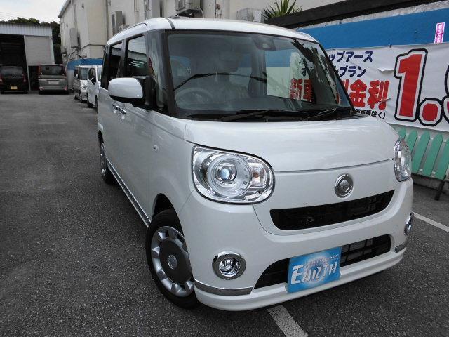沖縄県の中古車ならムーヴキャンバス Xメイクアップ SAIII