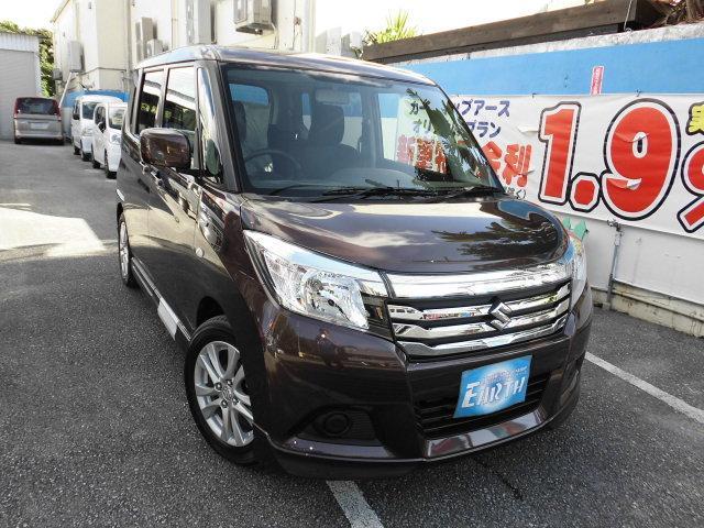 沖縄県の中古車ならソリオ 新車 ハイブリッド MX ナビ