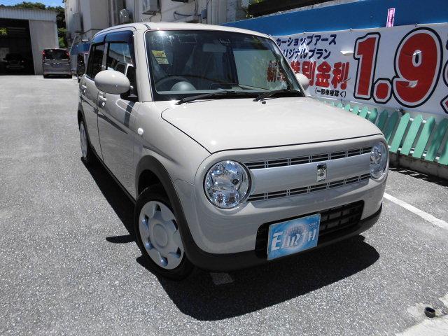 沖縄県中頭郡北谷町の中古車ならアルトラパン L 新車 L ナビ
