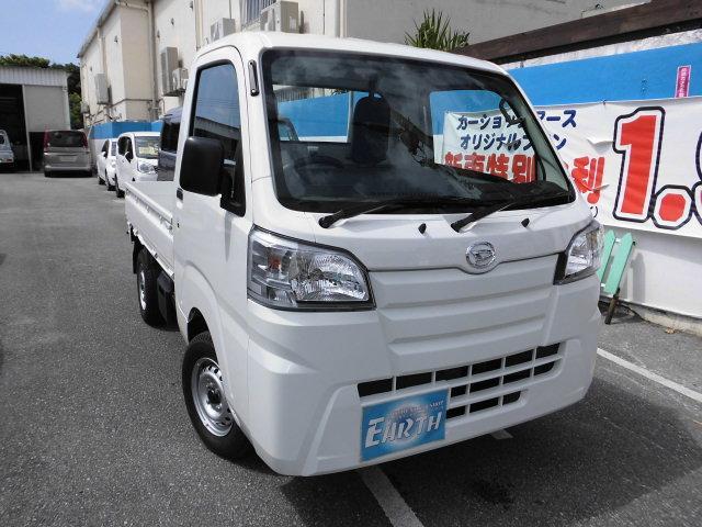 沖縄の中古車 ダイハツ ハイゼットトラック 車両価格 91.6万円 リ済込 新車  ホワイト