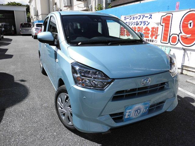 沖縄の中古車 ダイハツ ミライース 車両価格 100.5万円 リ未 新車  各色