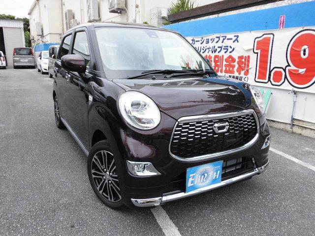 沖縄県の中古車ならキャスト 新車 スタイルG SAIII ナビ