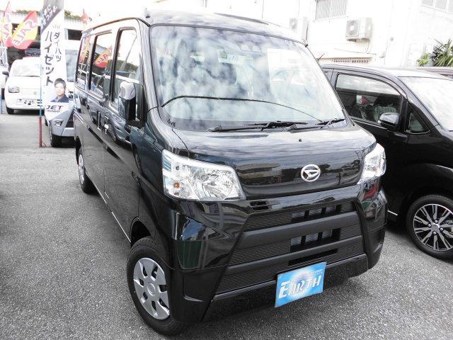 沖縄県の中古車ならハイゼットカーゴ 新型クルーズターボSAIII AT 2WD