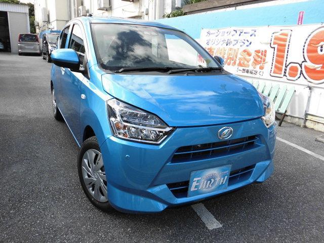 沖縄の中古車 ダイハツ ミライース 車両価格 95.7万円 リ未 2021(令和3)年 10km ブルー