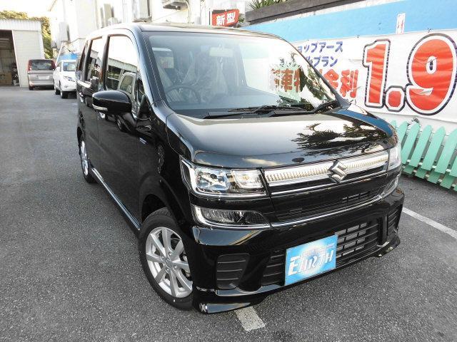 沖縄県の中古車ならワゴンR 新車 ハイブリッド FZ ナビ