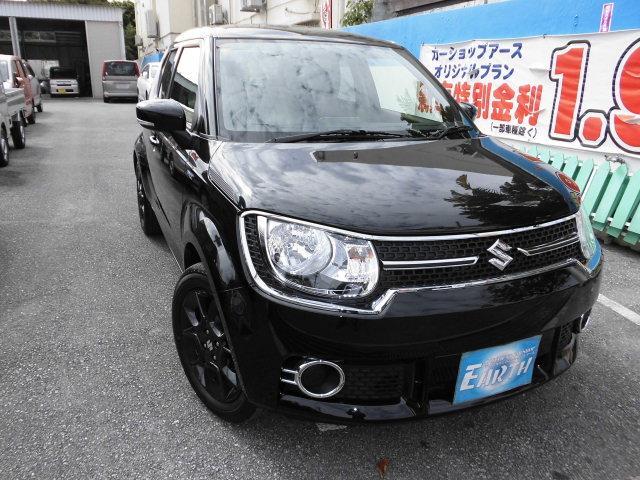 沖縄県の中古車ならイグニス 新車 ハイブリッドMX ナビ ブレーキサポート付