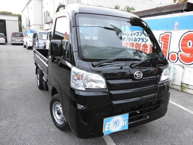 沖縄の中古車 ダイハツ ハイゼットトラック 車両価格 92.8万円 リ済込 新車  ブラック