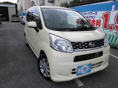 沖縄の中古車 ダイハツ ムーヴ 車両価格 89万円 リ済込 平成27年 0.6万K コットンアイボリー