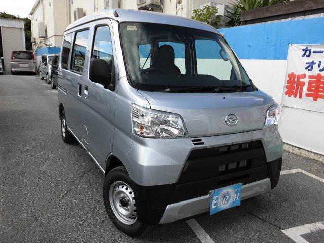 沖縄の中古車 ダイハツ ハイゼットカーゴ 車両価格 99万円 リ済込 新車  各色