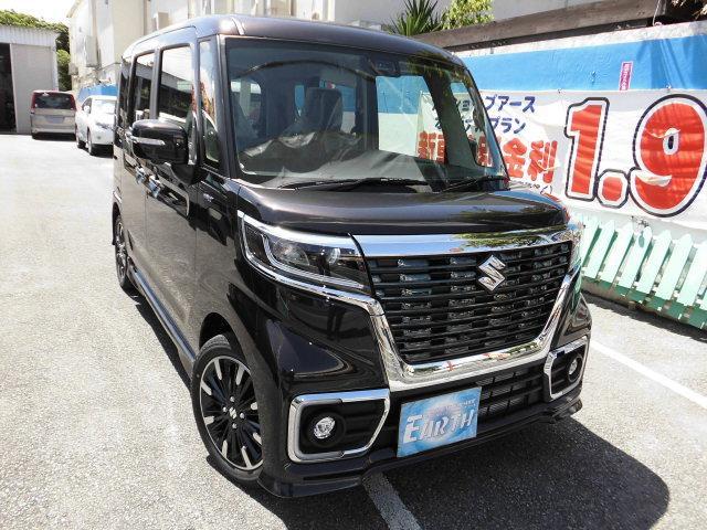 沖縄県の中古車ならスペーシアカスタム ハイブリッドXSターボ