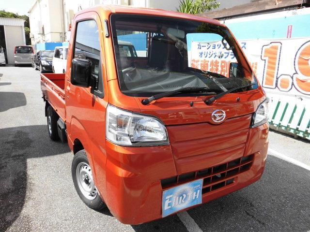 沖縄の中古車 ダイハツ ハイゼットトラック 車両価格 96.3万円 リ済込 新車  各色
