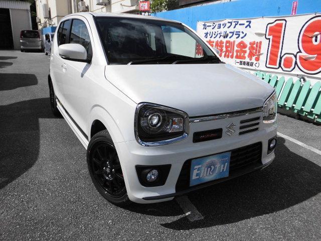 沖縄県の中古車ならアルトワークス 新車 ベースグレード 5F ナビ