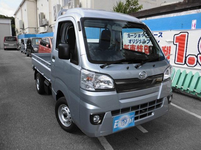 沖縄の中古車 ダイハツ ハイゼットトラック 車両価格 87.4万円 リ済込 新車  シルバー