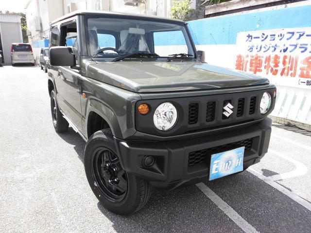 沖縄県中頭郡北谷町の中古車ならジムニー XG 新車 AT 4WD ナビ